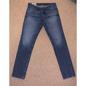 Hollister Skinny Fit Jeans Button Fly 100% Cotton